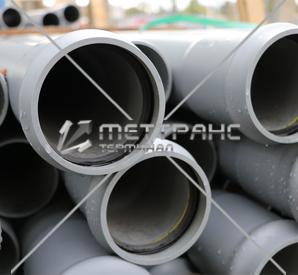 Труба канализационная 100 мм в Барнауле